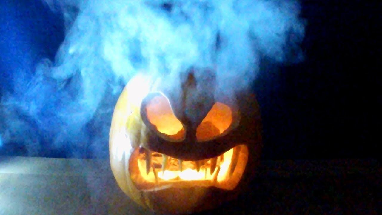 How To Make A Smoking Pumpkin Halloween Jack O Lantern