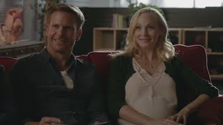 The Vampire Diaries: 7x09 - Alaric and Caroline go to a prenatal classes [HD]