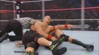 John Cena vs Randy Orton Highlights - HD Hell In A Cell 2014
