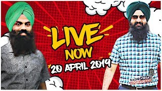 🔥LIVE FROM RADIO VIRSA UPGRADE TV STUDIO 🔥20 April 2019 | Baljinder Singh & Angrej Singh