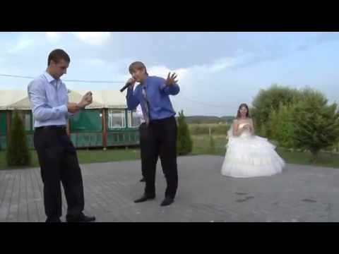 парни зажигают на свадьбе - guys are lit at a wedding