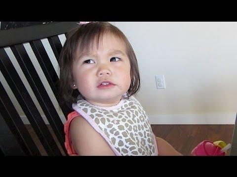 Baby MEAN MUG! - May 01, 2014 - itsJudysLife Daily Vlog