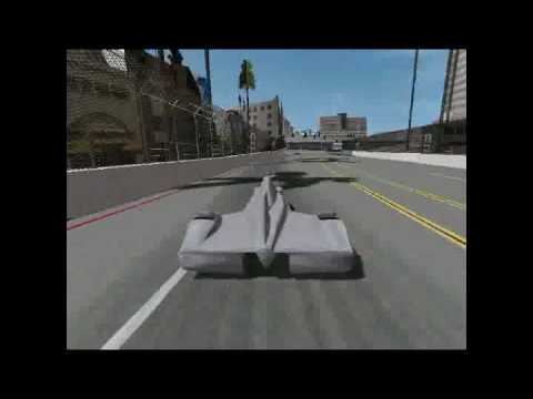 DeltaWing Concept Long Beach Simulation