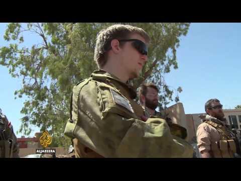 US Iraq war veterans join Kurds against ISIL