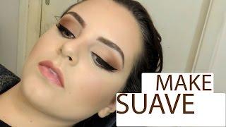 Maquiagem suave usando uma sombra marrom - Make dia a dia - Studio Vaidosas