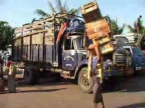 BURMA MYANMAR TRUCKS JANUARY 2008 PMP DVD 1587