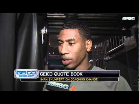 Iman Shumpert & J.R. Smith on Mike D'Antoni Change
