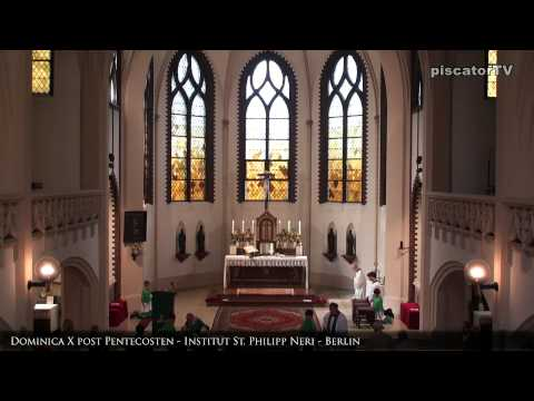 Dominica X post Pentecosten 16 Communio - Traditional Latin Mass