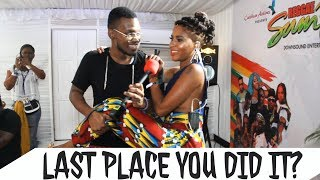 Last Place You Did It, Besides Your Bed? | Public Interview (Montego Bay Answers)