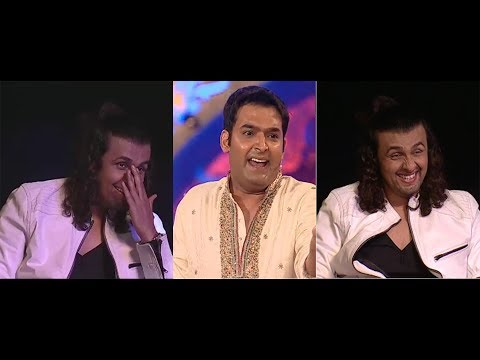 Kapil Sharma unseen comedy video on Bollywood singer Sonu Nigam.