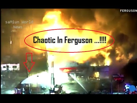 [Breaking News] Chaotic News Compilation in Ferguson 25th nov 2014