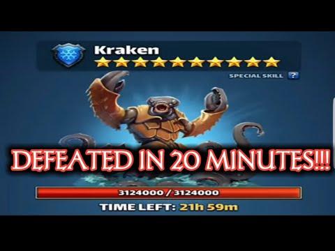 10* Titan dead in 21 minutes Empires & Puzzles: 7DD: Anchor