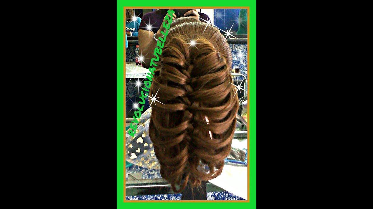 Плетение кос бабочками 68