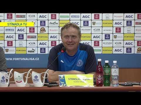 Tisková konference domácího trenéra po utkání Teplice - Plzeň (18.8.2019)