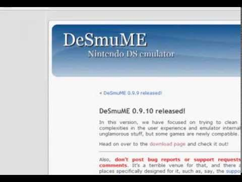 desmume 0.9.10 jit with pokemon black 2 (100%) working