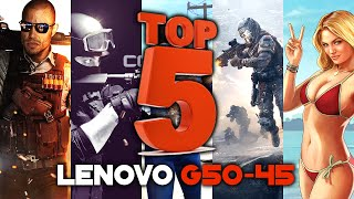 TOP 5 Games | LENOVO G50-45 Gaming | A8 6410 | AMD Radeon R5 M330