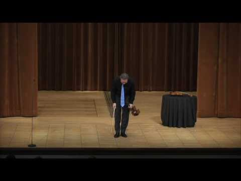 Mark O'Connor in Recital at Cleveland Music Institute - 2010 (Caprices #4 and #5)