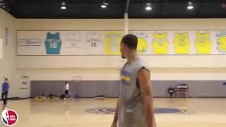 LeBron James VS Stephen curry crazy shot moments