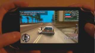 PS VITA GTA Grand Theft Auto Gameplay Vice City Stories psp game GTA 5 HD
