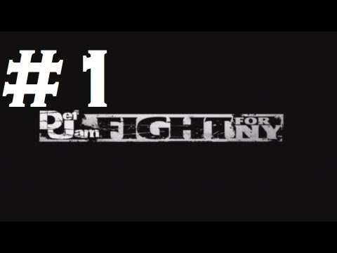 Def Jam: Fight For Ny - Playthrough Part 1 (hd) video