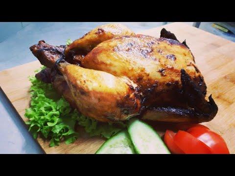 Секреты вкусной Курицы целиком  в духовке