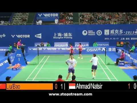 R32 - XD - T.Ahmad / L.Natsir vs Liu C. / Bao Y.X. - 2013 China Open