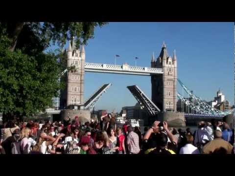 Tower Bridge Open London UK