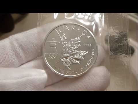 2008 Royal Canadian Mint Vancouver 2010 Olympic Games 1 Ounce Silver Coin Review