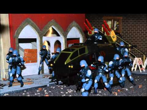 G.I. JOE DIORAMA STORY : COBRA ATTACKS : EPISODE IX BLITZKRIEG