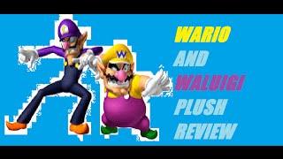 Wario And Waluigi Plush Review