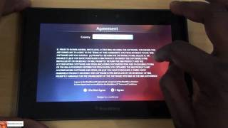 How to Setup & Update Blackberry Playbook| Booredatwork