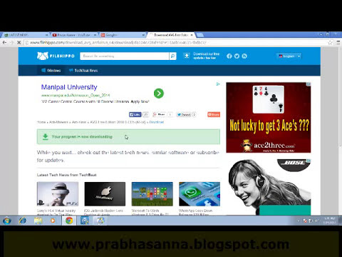 Download Now AVG anti-virus full free 2014 telugu
