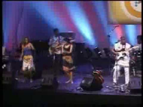 Manecas Costa E Banda - Mandela - Philips Music World Festival - Sp video