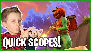 Quick Scopes with Hunting Rifle!