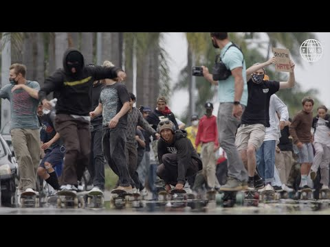 San Diego Protest Skate | Rolling for Rights