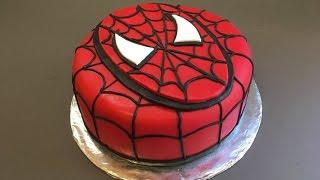 Spiderman Cake - Birthday Boy - Tutorial - How to | BOLO HOMEM ARANHA | سبايدر مان
