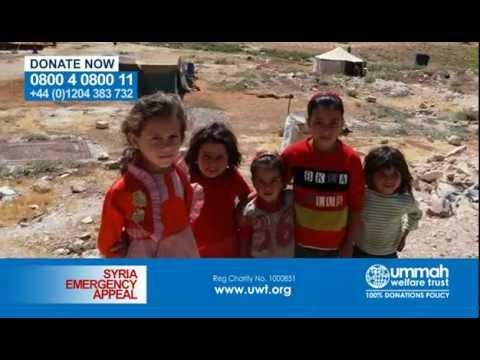 UWT Syria Emergency Appeal!