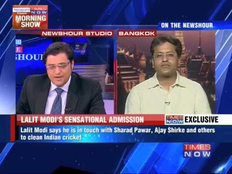 In Touch With Sharad Pawar And Shashank Manohar: Lalit Modi