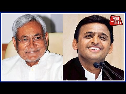 Bihar CM Nitish Kumar Welcomes The Decision Of Choosing Akhilesh As CM Candidate