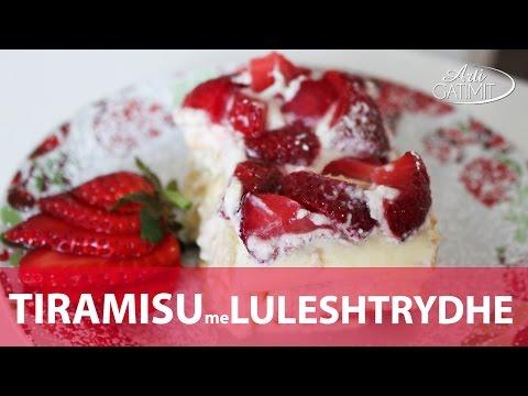 Receta Tiramisu me luleshtrydhe shqip - Video nga ArtiGatimit.com
