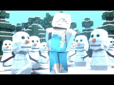 Minecraft Mods - MORPH HIDE AND SEEK - FROZEN MOD!