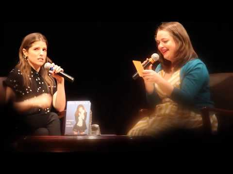 Anna Kendrick - Scrappy Little Nobody Book Tour in Boston