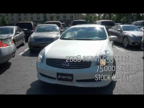 2006 Infiniti G35 Coupe Navigation Stock# 2313