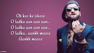 Aankh Marey Mika Singh Neha Kakkar Kumar Sanu Simmba