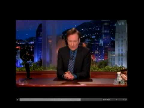 Conan O'Brien's Classy Goodbye Speech Video