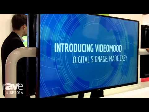 ISE 2016: Philips Signage Reveals Signage D-Line with Android OS for the First Time at ISE