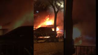 ambulance fire upper west side
