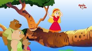 Goldi locks ar  tin bhalluk | গোল্ডিলক্স আর তিন ভাল্লুক| Bangla Animated Stories by Jingle Toons