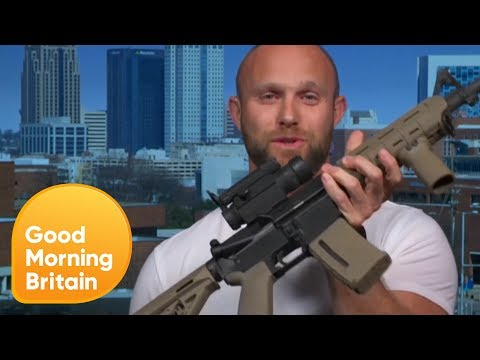 U.S. Roofing Company Gives Free Assault Rifles to Customers | Good Morning Britain thumbnail