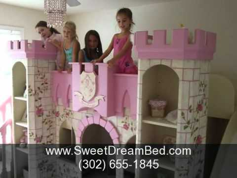 0 Girls Princess Room | Girls Princess Bed | Custom Childrens Furniture & Decorating Kids Rooms